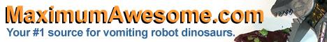 Vomiting robot dinosaur