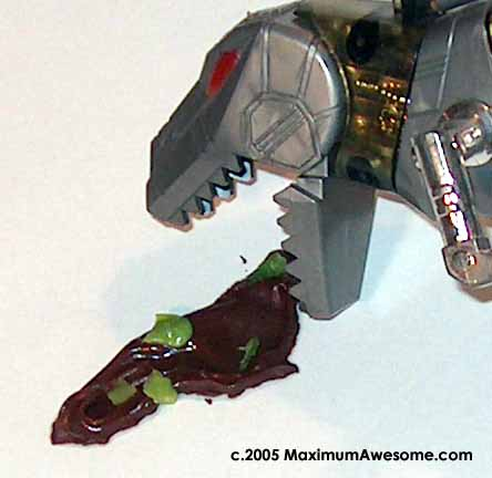 Transformers: vomiting robot dinosaurs in disguise