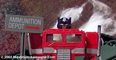 Optimus Prime bites it