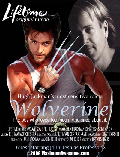 wolverine hugh jackman john tesh movie