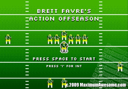 Brett Favre's Action Offseaon