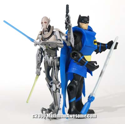 General Grievous (Star Wars Episode III) from Hasbro and Batman: Brave and the Bold from Mattel