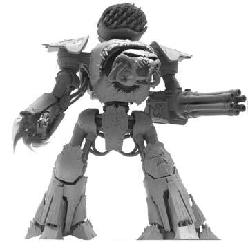 Forge World Chaos Reaver Titan