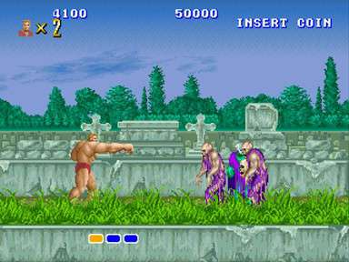 Altered Beast from Sega Genesis