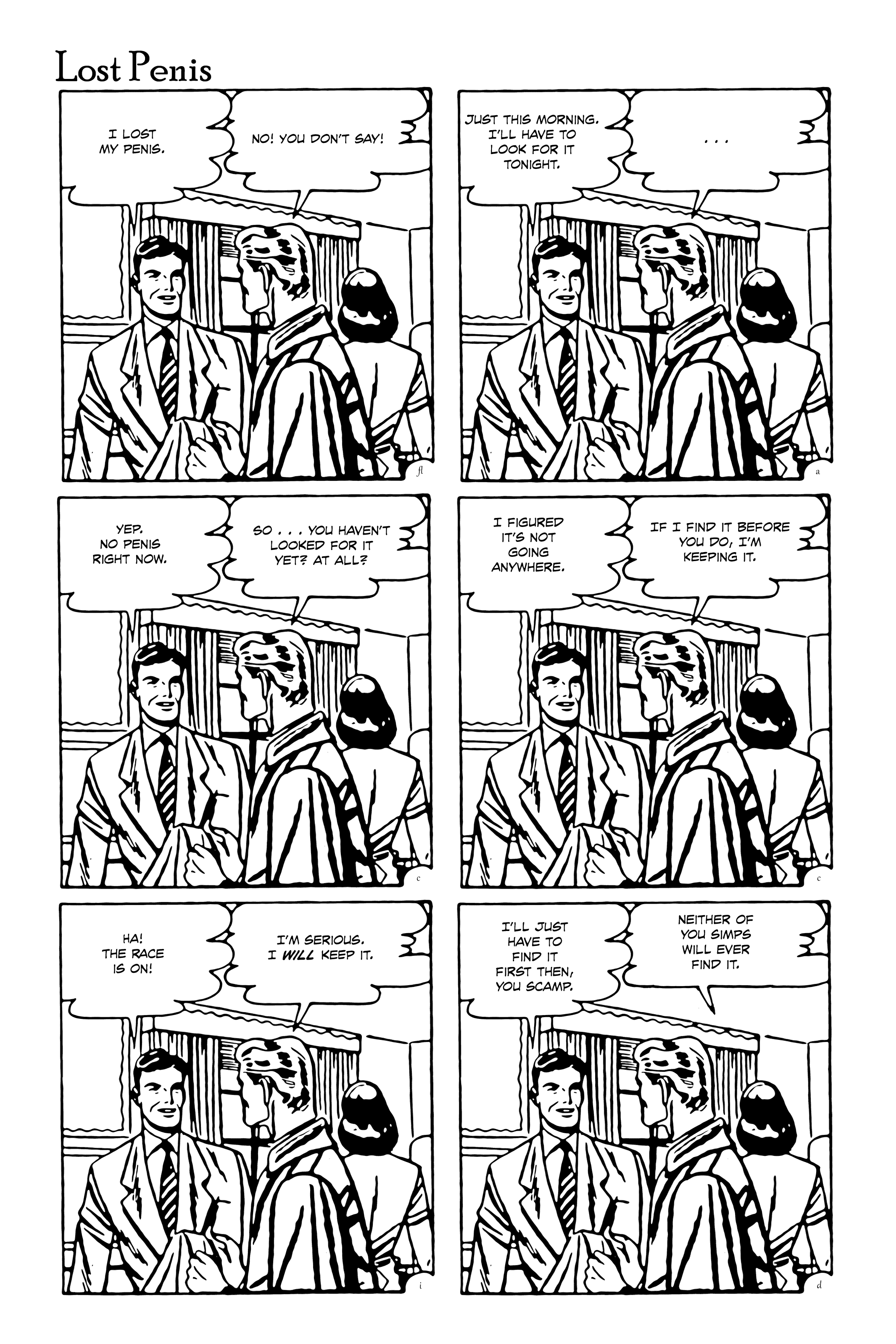 Lost Penis (from Flight by Dave McAwesome)