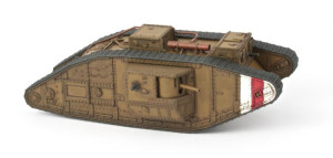 A painted Trenchworx British Mk V. This is from the Trenchworx website. I didn't paint it, but I wish I did.